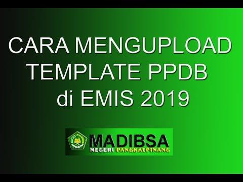 Tutorial Input Data Emis Madrasah 2019