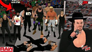 WWE 2K18 ANDROID - WWE RAW TOP10 SHOCKING Moments WWE SVR11/WWE 2K18 PSP