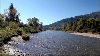 Fresh Water Flowing River - A One Minute Meditation UHD