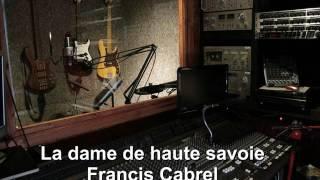 la dame de haute savoie cover francis cabrel