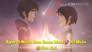 Agar Me Bata Do   Chura Ke Dil Mera Song   Kumar Sanu    Best Romantic Whatsapp Status