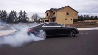 Mercedes-Benz CLS 55 AMG Tire Slayer