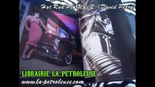 Livre / Book HOT ROD PINUPS 2 (David Perry)