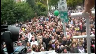 CityParade 2009 : Dimitri Vegas & Like Mike playing their 'Leave The World Behind' remix !!