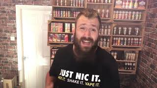 blues and twos   Firehouse vapes  Juice review by THE VAPERY