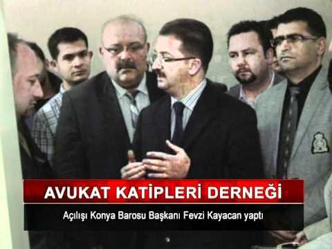 Konya Avukat katipleri Sosyal Yardımlaşma Ve Dayanışma Derneği Açılış Programı
