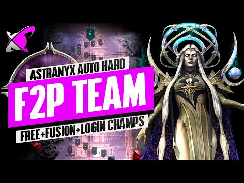 "ASTRANYX THE DARK FAE | ""HARD F2P Auto"" Team | RAID: Shadow Legends"