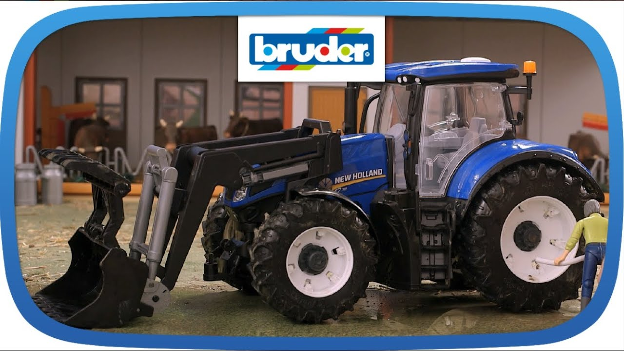 03121 - new holland t7.315 mit frontlader