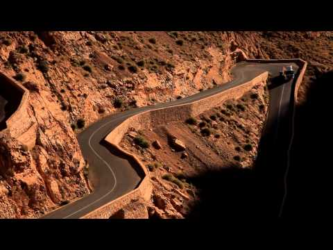 Route R704 at Dades Gorges, Morocco