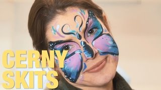 CERNY SKITS ft Dr. Simon Ourian, Steven Spence, Johannes Bartyl, Katja & Justin Roberts