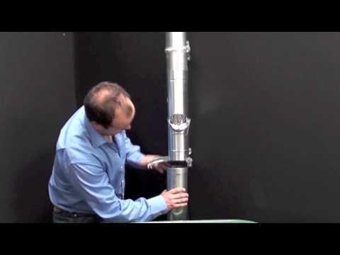 Montáž výklopného sběrače vody