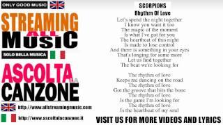Scorpions - Rhythm Of Love (Lyrics / Testo)