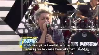One Direction Drag Me Down-Türkçe