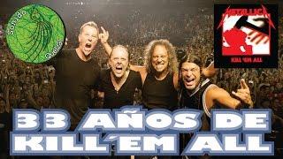 15 curiosidades kill´em all Metallica Vol. 1