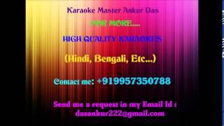 Tum Aa Gaye Ho Noor Aa Gaya Hai Karaoke   Aandhi By Ankur Das 09957350788