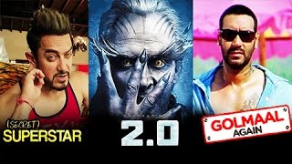 Aamir Khan VS Rajinikanth And Akshay Kumar VS Ajay Devgn | Diwali Box Office Clash