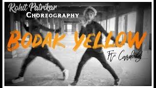 """BODAK YELLO""   Cardi B Dance   Rohit Patrikar Choreography   Ft= Shubham Mandade   Dance Inferno"
