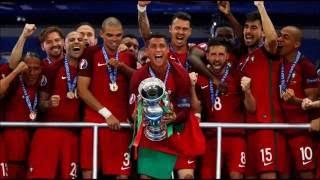 O relato Antena 1 dos Campeões da europa 2016 Portugal 1 - 0 França