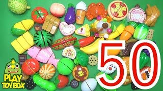 Learning Birthday Party Food Names and Sounds for kids with Toys Surprise Egg [KOR]