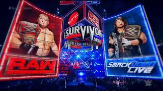 Survivor Series AJ Styles vs Brock Lesnar Highlights