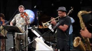 """Limehouse Blues"" Wynton Marsalis & Mark O'Connor, Soundcheck at Marciac Jazz Fest"