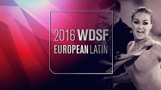 Lazzarini - Benedetti, ITA | 2016 European Latin R3 R | DanceSport Total