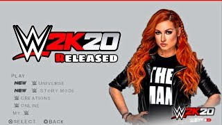 NEW WWE 2K20 PSP MOD FOR GAMERNAFZ V1.49