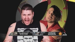Kevin Steen vs Shinsuke Nakamura (ROH War of the Worlds 2014)
