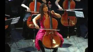 F. Schubert Serenade - Velitchka Yotcheva, Patrice Lare and I Cellisti Orchestra.avi