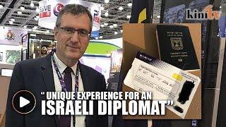 Israeli diplomats make pioneering visit to Malaysia