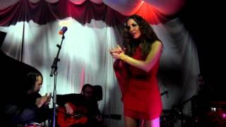 Maria Toledo canta el sol,la sal,el son sala onix Trigueros
