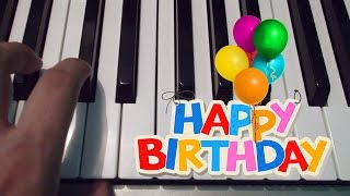 Happy Birthday / Piano Tutorial / Notas Musicales