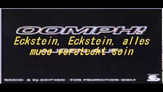 Oomph - Augen auf +Lyric's