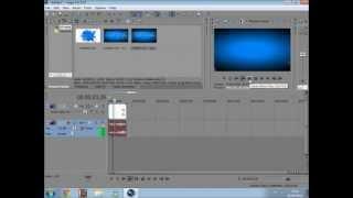 Tutorial Sony Vegas - Vídeo Rodando de Trás Pra Frente (Rebobinando)