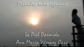 DESNUDOS ENTRE ESPUMAS La piel dormida, poesias de ANAMARIA VASQUEZ CARO