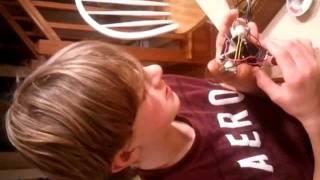 Gabe's Beetle Bot Project Jan 2012
