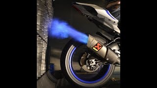 Yamaha R1 RN49 Prüfstand Dynorun Fire