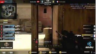Device insane ace vs EnVyUs (live casters reaction) CS:GO