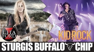 Kid Rock and Lita Ford at the Sturgis Buffalo Chip | August 9, 2018