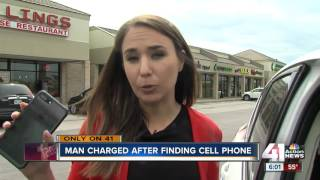 Man who returned lost phone charged with misdemeanor theft