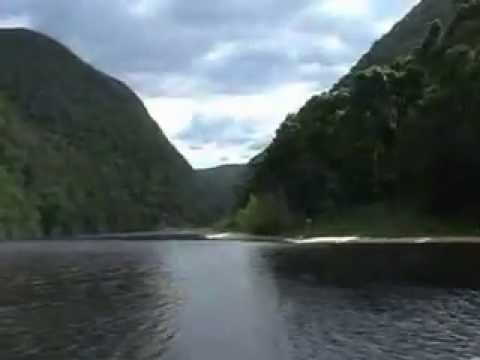The Keurbooms river at Plettenberg bay, south africa.