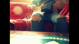 Hachiko Fink Cover Guitar base Cherry Bomb-The Runaways