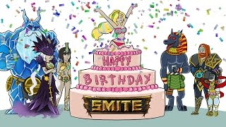 Happy Birthday SMITE - Music Video (Katy Perry Parody)