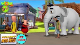 Safed Haathi - Motu Patlu in Hindi - 3D Animation Cartoon - As on Nickelodeon width=