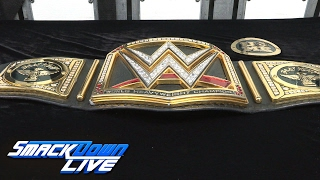 Montaje del campeonato personalizado de Bray Wyatt