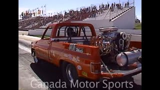 Drag Racing, Rick Markham's One Night Stand wheelstander - Aug 1994