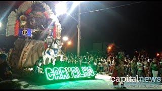 Vila Carvalho vence desfile das escolas de samba em Campo Grande