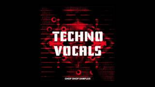 Techno Vocals - 100 Vocal phrases, words, hooks, cut and glitch loops