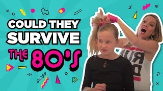 Could kids today survive a day in the 80s? | The Holderness Family