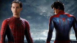 BATALHA DE RAP FAMOSOS - Homem Aranha (Tobey Miguire) VS Espetacular Homem Aranha (Andrew Garfield)
